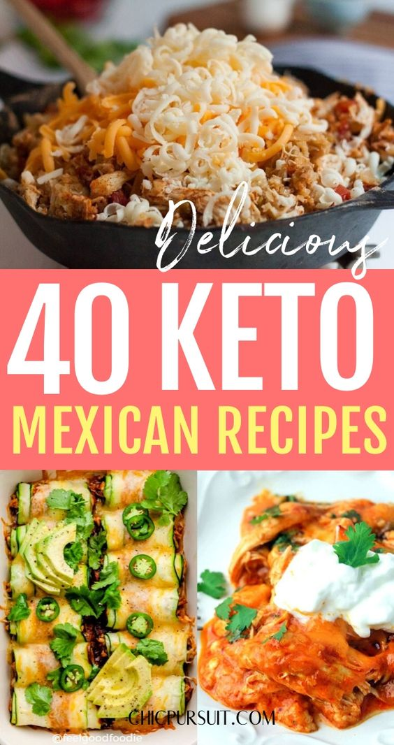 The best easy keto Mexican food recipes for weight loss