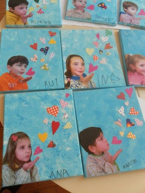 Mother's Day Crafts For Kids: Kisses Card
