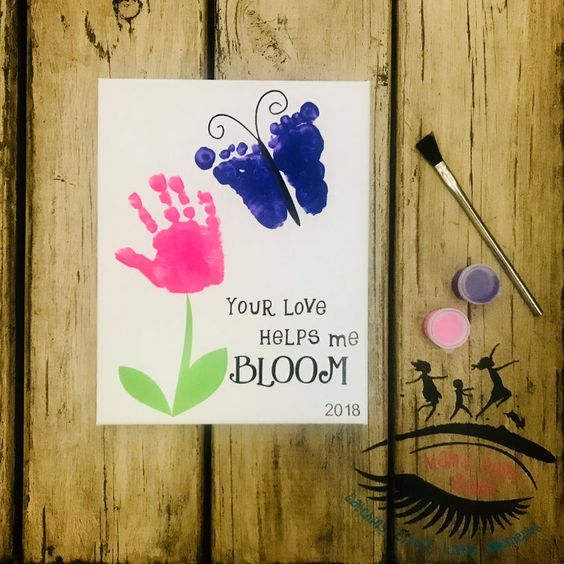 Your Love Helps Me Bloom Card