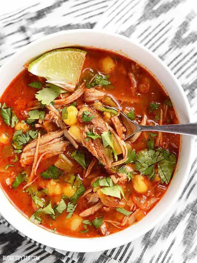 Authentic Mexican Food Recipes: Homemade Posole