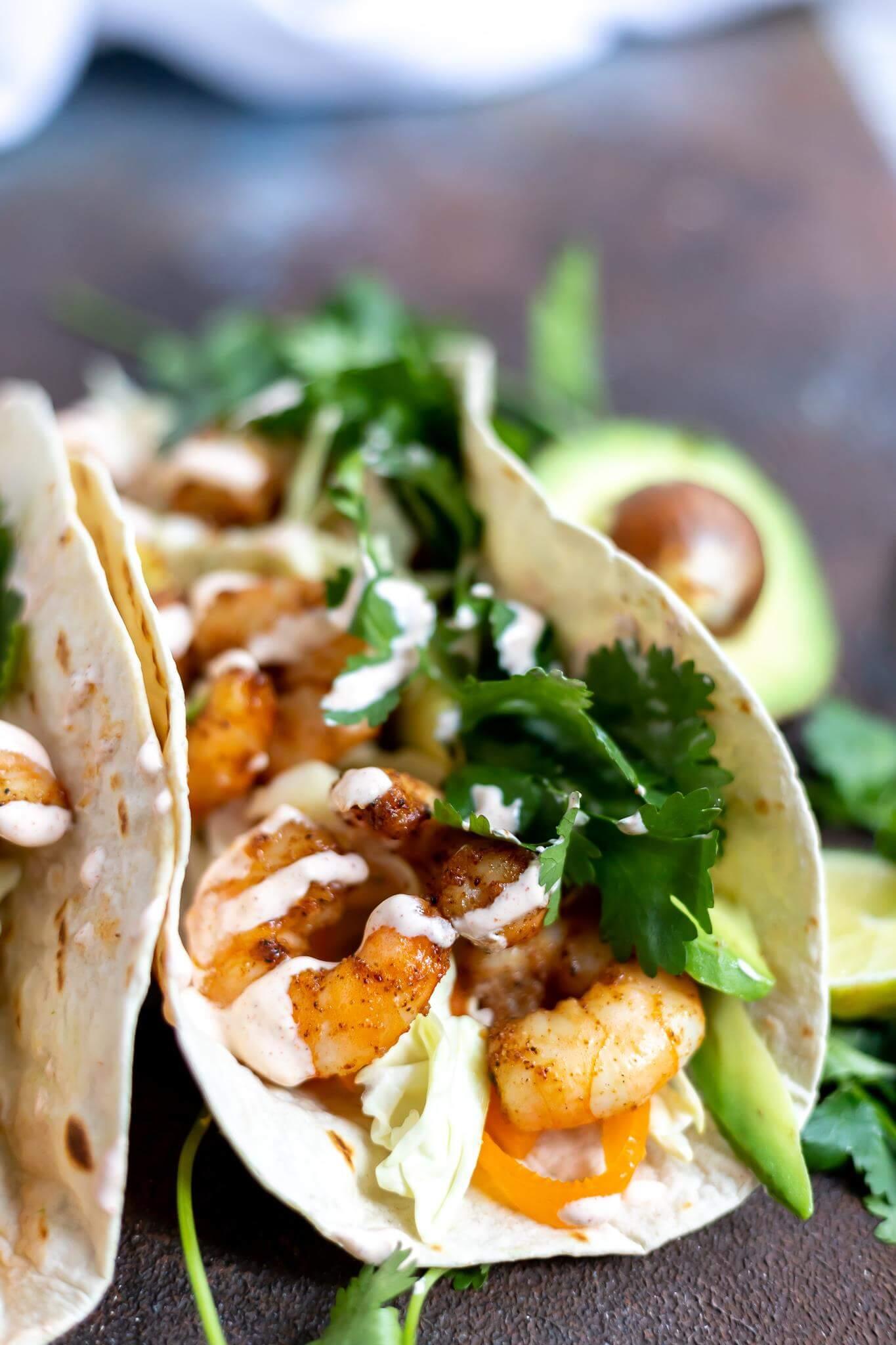 Quick & Easy Shrimp Tacos