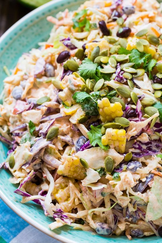 Easy And Authentic Mexican Food Recipes: Mexican Coleslaw