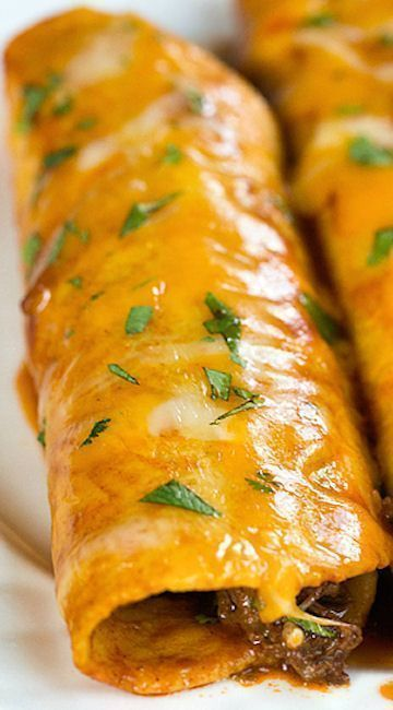 Authentic Mexican Food Recipes: Easy Beef Enchiladas