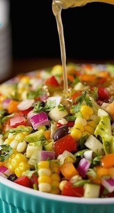 Best Authentic Mexican Food Recipes: Mexican Chopped Salad