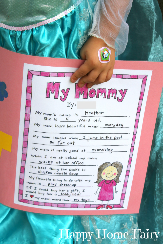 Printable Mother's Day Project