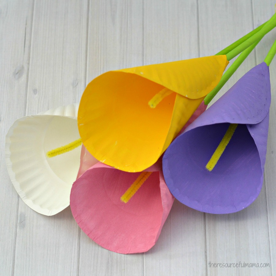 Calla Lily Flowers Craft