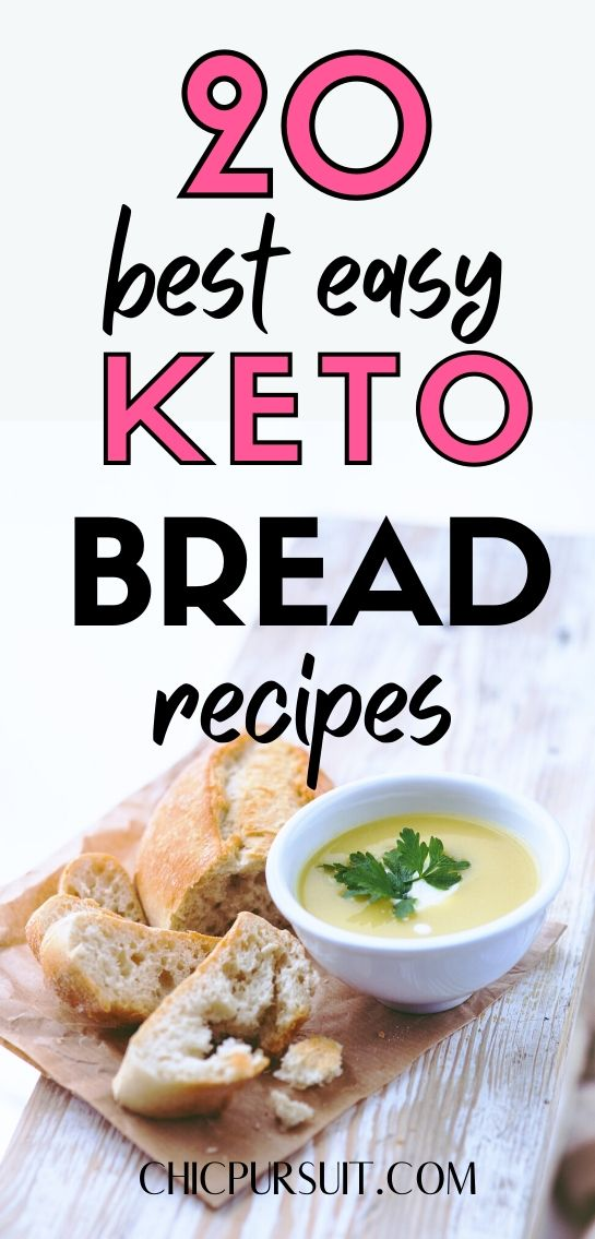 20 Best Easy Keto Bread Recipes That Your Family Will Love