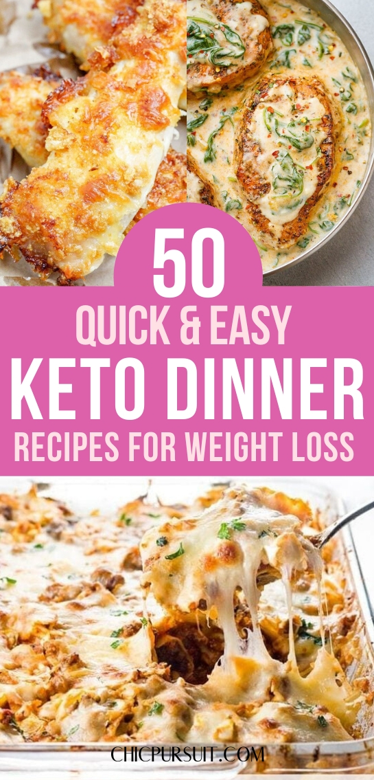 50+ Quick And Easy Keto Dinner Recipes Perfect For Beginners