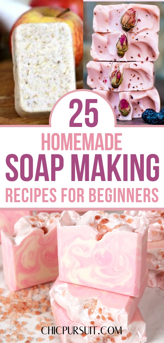 Easy soap making recipes for beginners