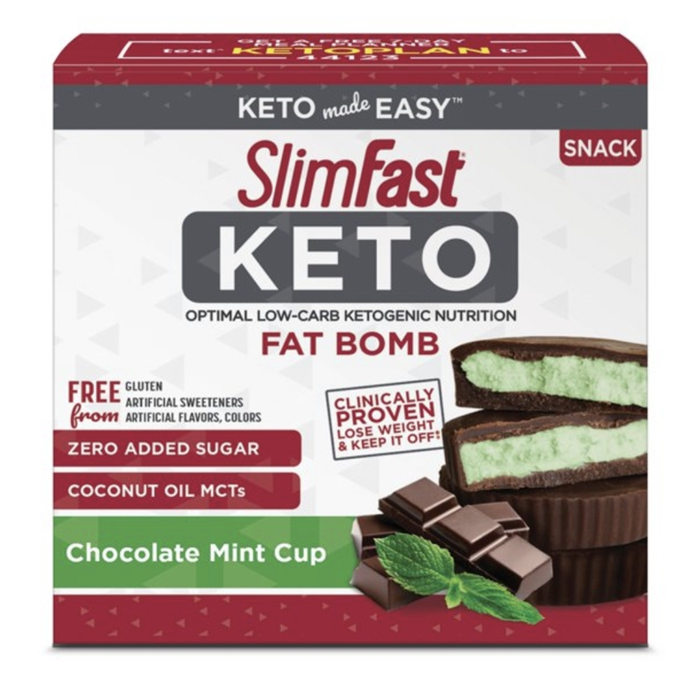 Best store bought keto snacks and store bought fat bombs in chocolate mint flavor