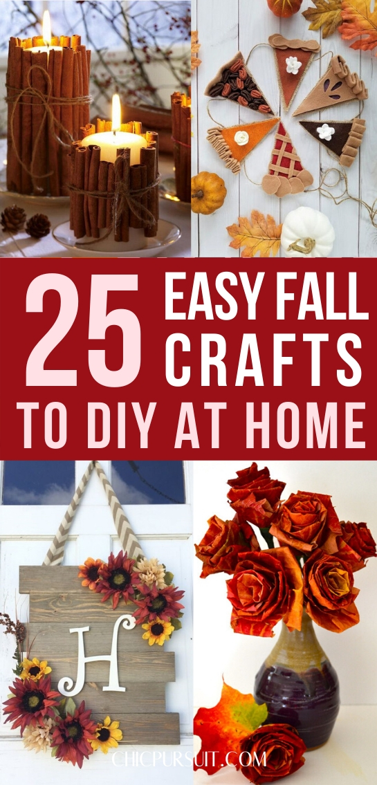 fall crafts for adults, autumn crafts for adults, easy fall crafts for seniors