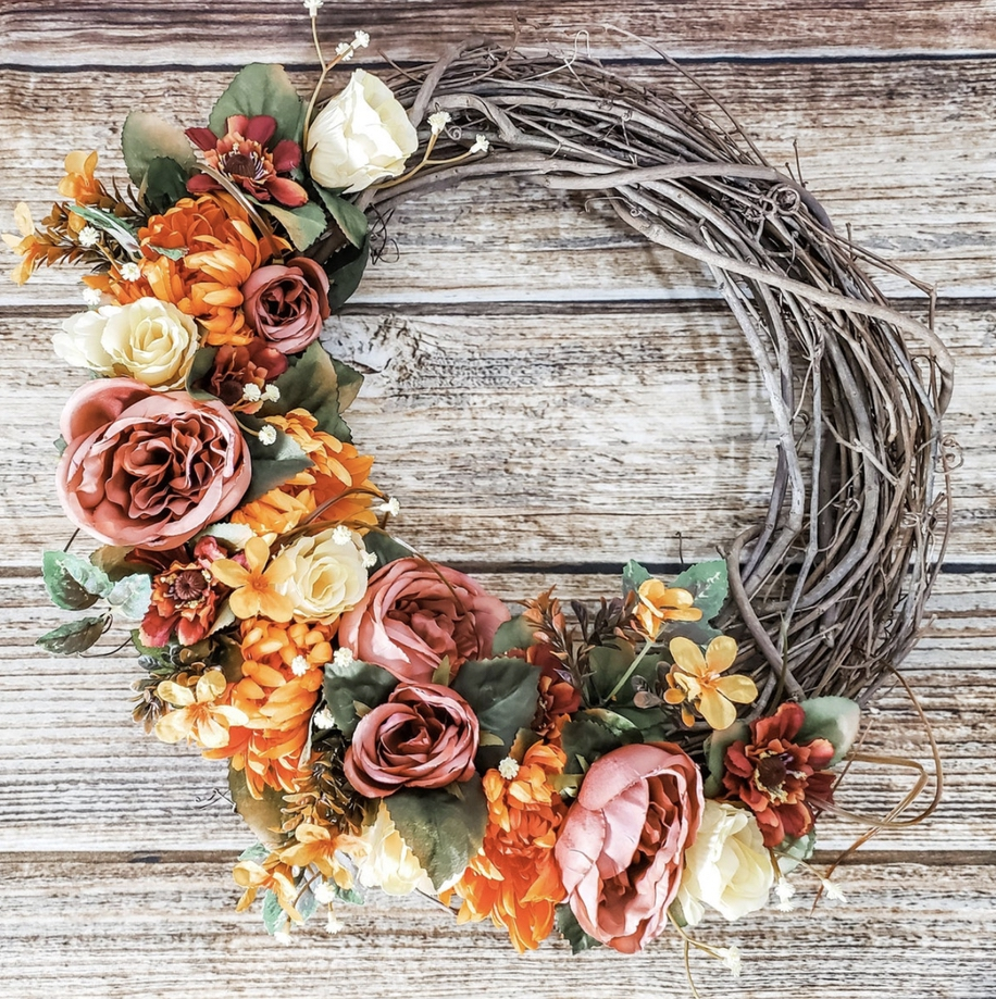Rustic fall wreaths for front door, farmhouse fall wreaths, best fall wreaths