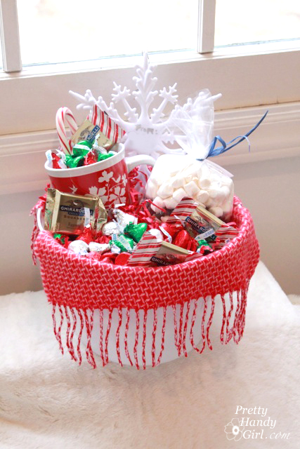 Warm & Cozy Chocolate Gift Basket