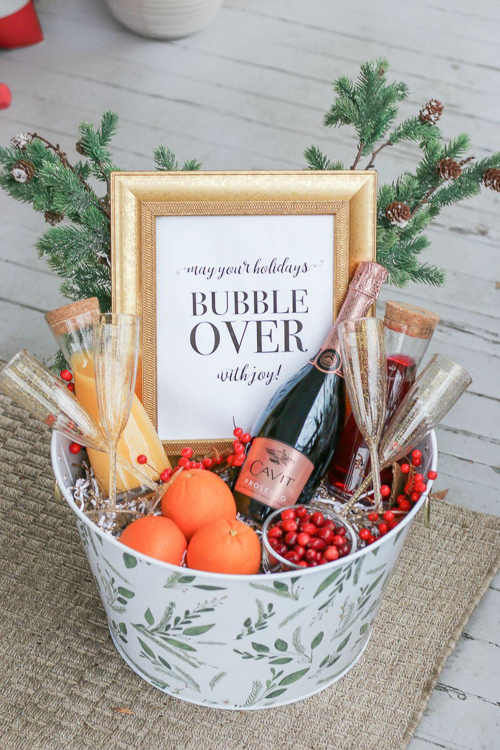 Mimosa Gift Basket