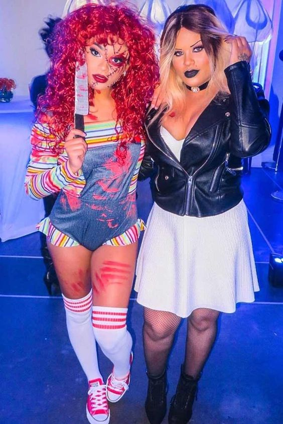 Hot and scary Halloween costumes for women - Chucky costume