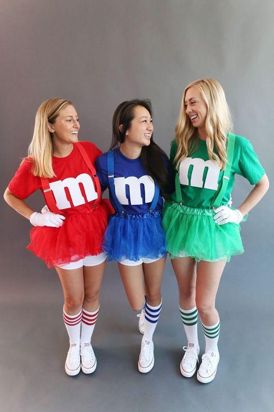 Cute trio Halloween costumes for besties