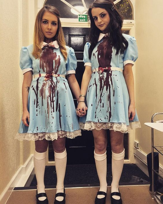 Scary BFF Halloween costumes