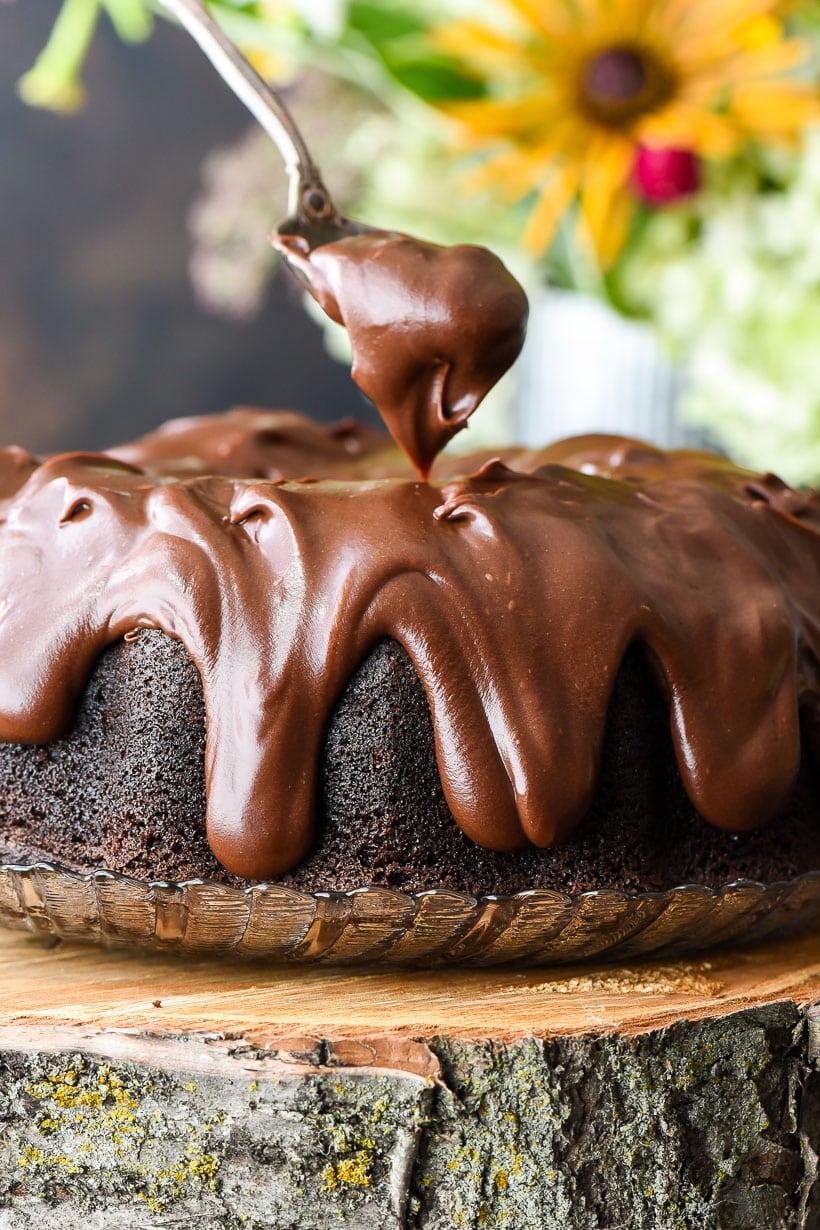 Best Ever Chocolate Bundt Cake