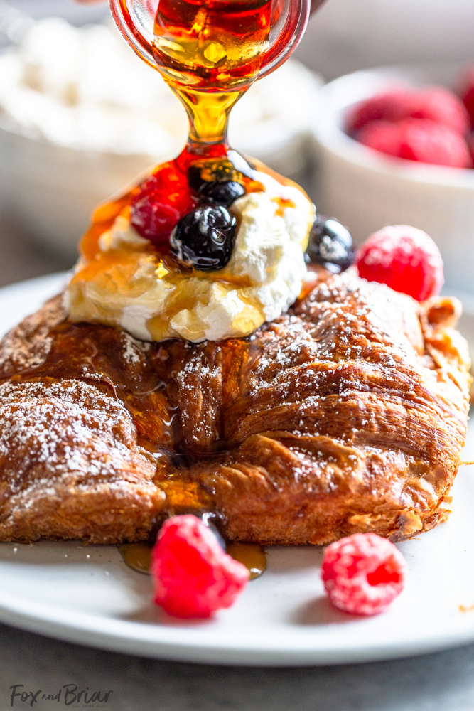 Best Christmas breakfast ideas: Overnight Croissant French Toast Bake
