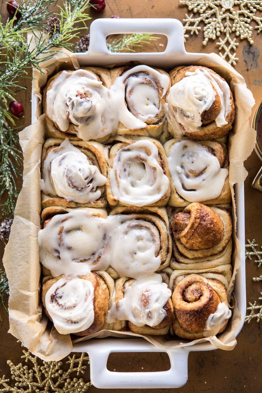 Best Christmas breakfast ideas: Overnight Eggnog Brioche Cinnamon Rolls