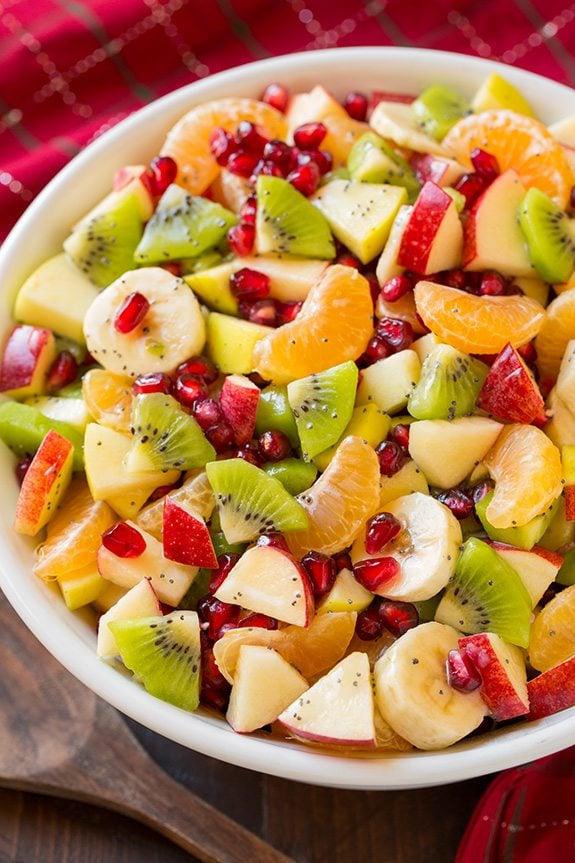 Best Christmas breakfast ideas: Winter Fruit Salad