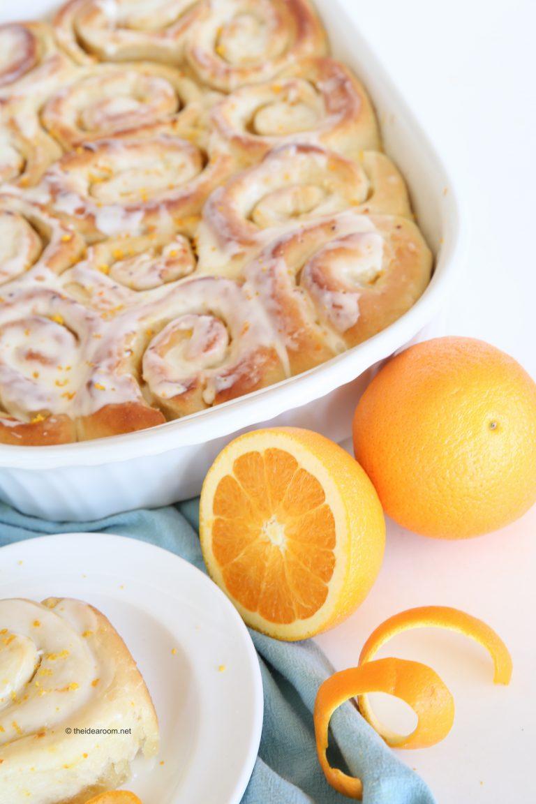 Best Christmas breakfast ideas: Orange Sweet RollsRecipe