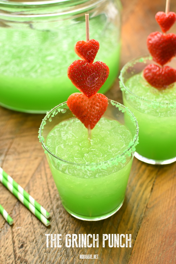 Easy Christmas cocktails: The Grinch Punch