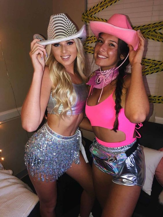 Hot party girls costume