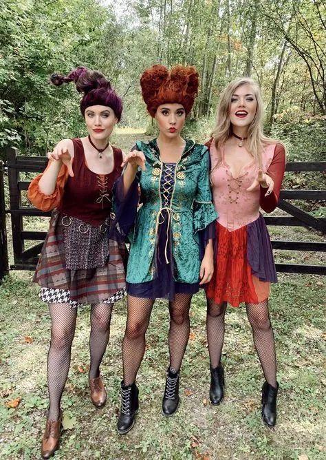 Hocus Pocus Halloween costumes