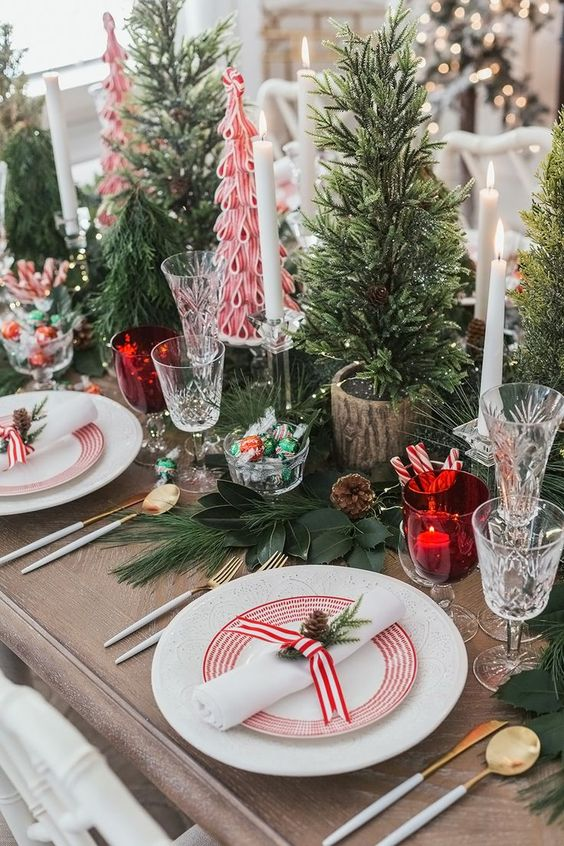 Peppermint Holiday Decor