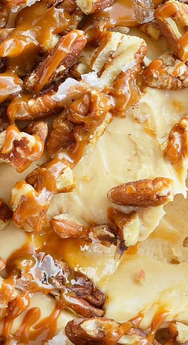 Salted Caramel Pecan Cheesecake Christmas Dips