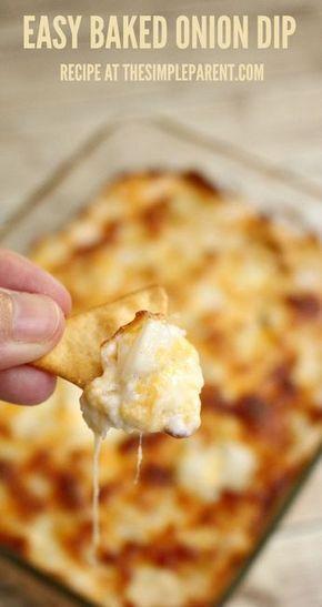 Baked Cream Cheese Onion Dip