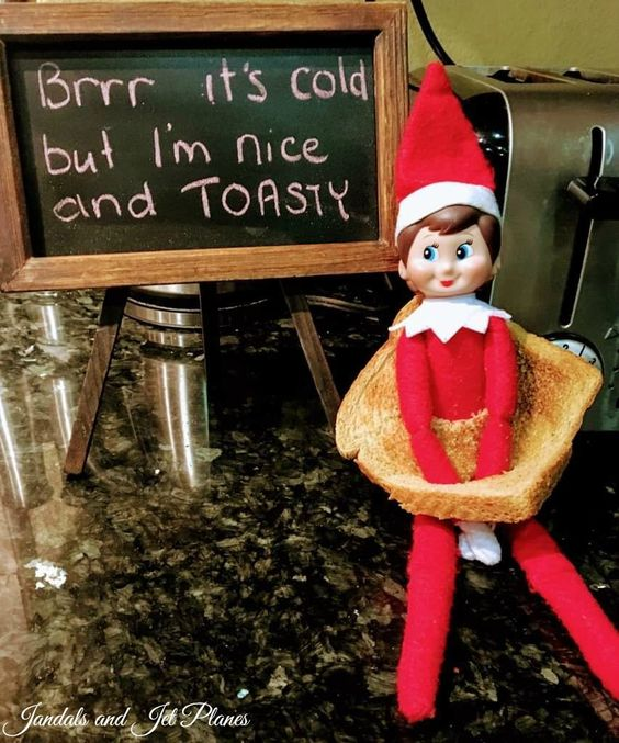 Elf on the shelf funny pictures