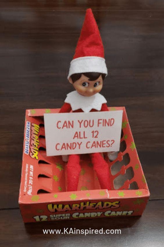 Elf on the shelf game