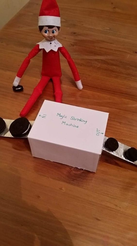Funny elf on the shelf ideas for kids