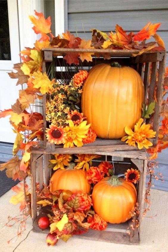 Unique DIY Fall Porch Decor Ideaa