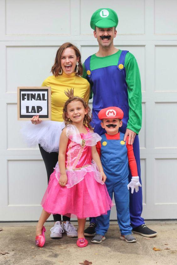 Mario family costumes