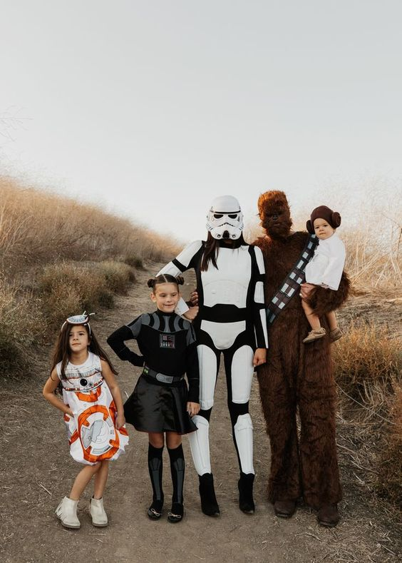 Star Wars family halloween costumes