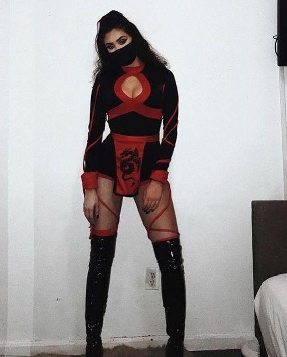 Hot Ninja Halloween costume