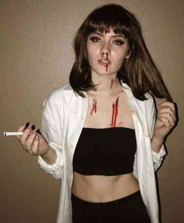 Easy Mia Wallace costume from Pulp Fiction