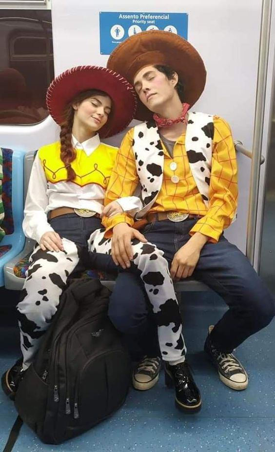 Toy Story couples Halloween costume