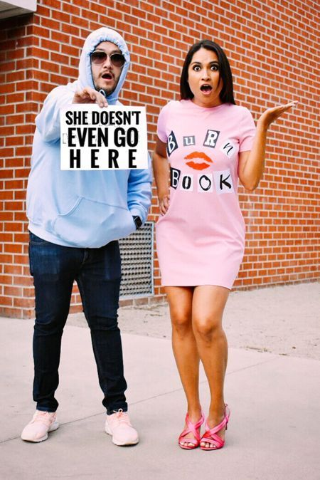 Mean Girls Halloween costumes, Couples costumes 2020, couples halloween costumes,