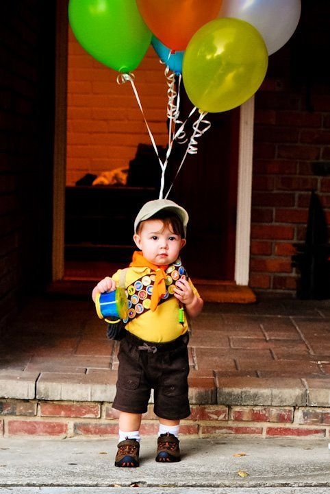 Best kid Halloween costumes - Russell from up costume