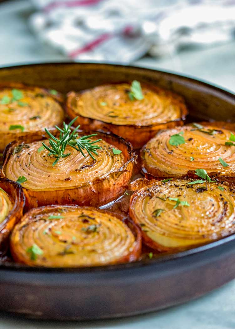 Best Christmas side dishes: Marinated Slow Roasted Onions