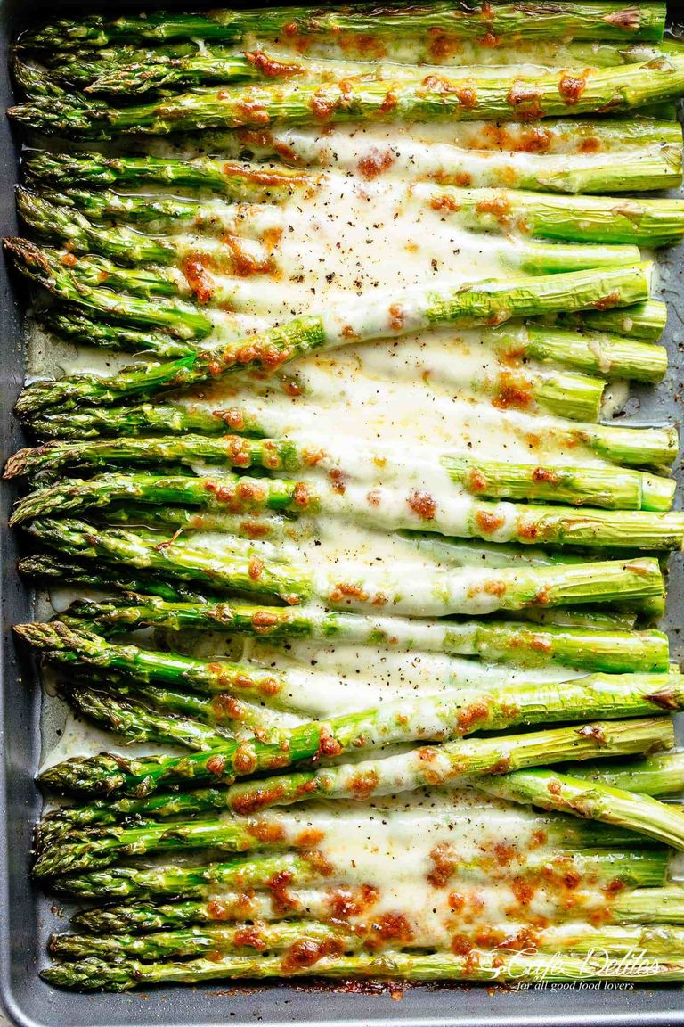 Best Christmas side dishes: Cheesy Garlic Roasted Asparagus
