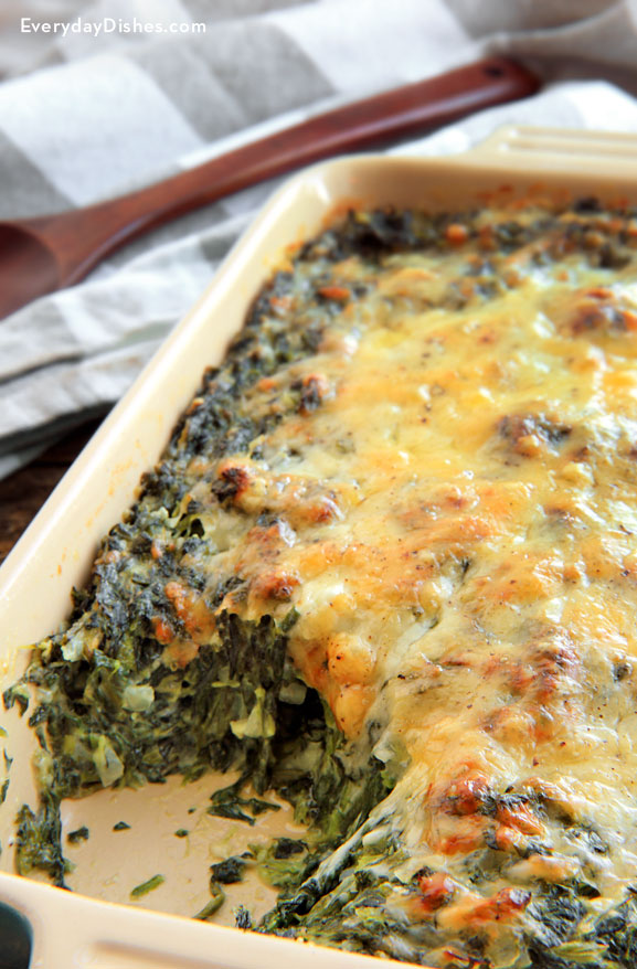 Best Christmas side dishes: Spinach Gratin