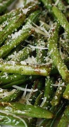 Easy Christmas sides: Roasted Parmesan Green Beans