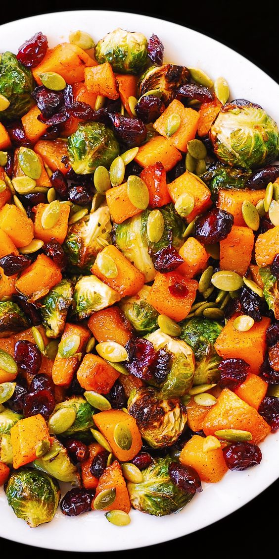 Best Christmas side dishes: Roasted Brussels Sprouts Salad