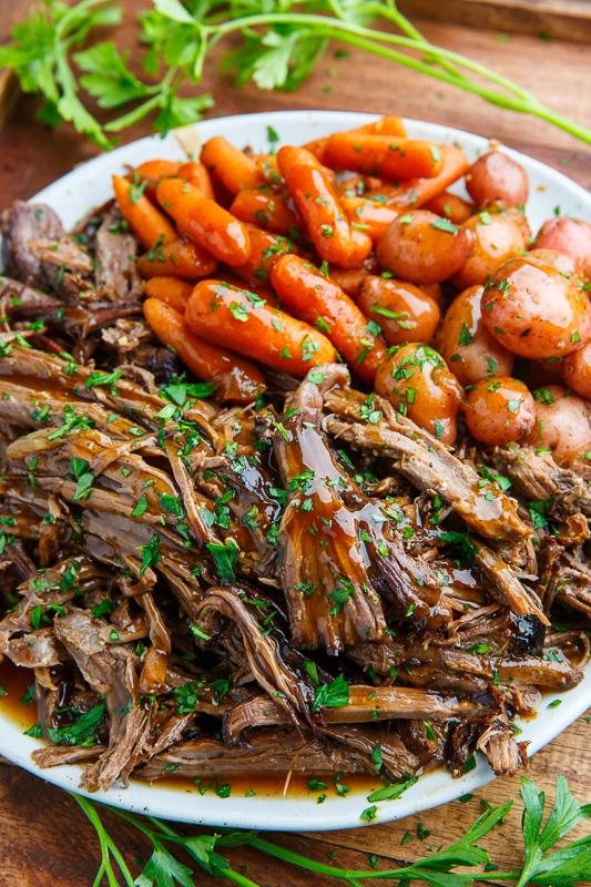 Best fall crockpot recipes: Balsamic Glazed Roast Beef