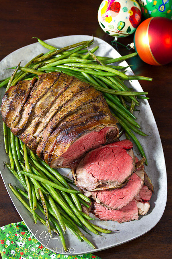 Bacon Wrapped Beef Tenderloin